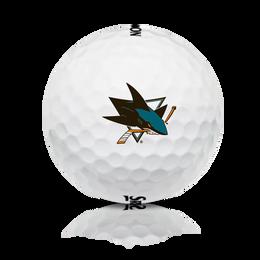 Q-STAR 5 NHL Logo Golf Balls - San Jose Sharks