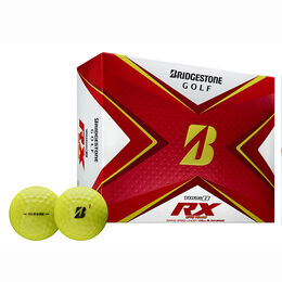 TOUR B RX Yellow Golf Balls