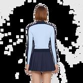 Long Sleeve Melody Stripe Sleeve Cardigan Back Cut