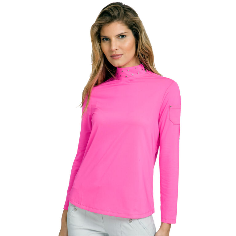 Ultra Group: Long Sleeve Shoulder Zip Mock