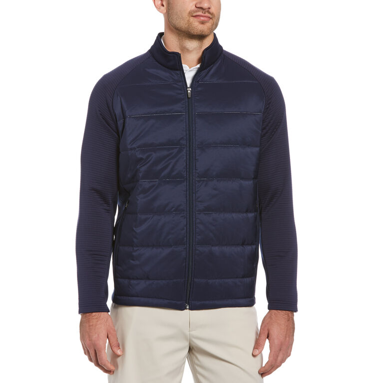Ultrasonic Mixed Media Golf Jacket