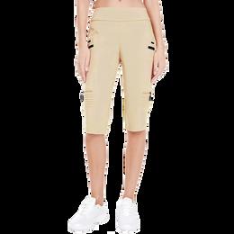 Skinny Knee Pull On Capri Pants