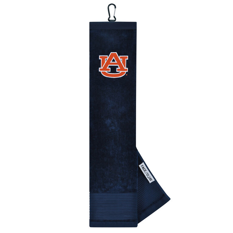 Team Effort Auburn Tigers Tri-Fold Towel