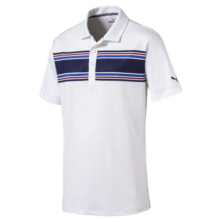 Montauk Chest Stripe Golf Polo