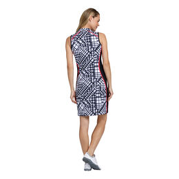 Sleeveless Gingham Print Dress
