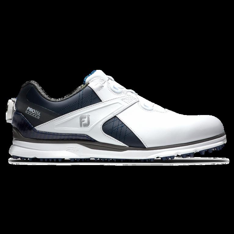 Pro SL Carbon BOA Men's Golf Shoe - White/Navy