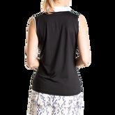 Alternate View 3 of Sleeveless Contrast Trim Polo Shirt