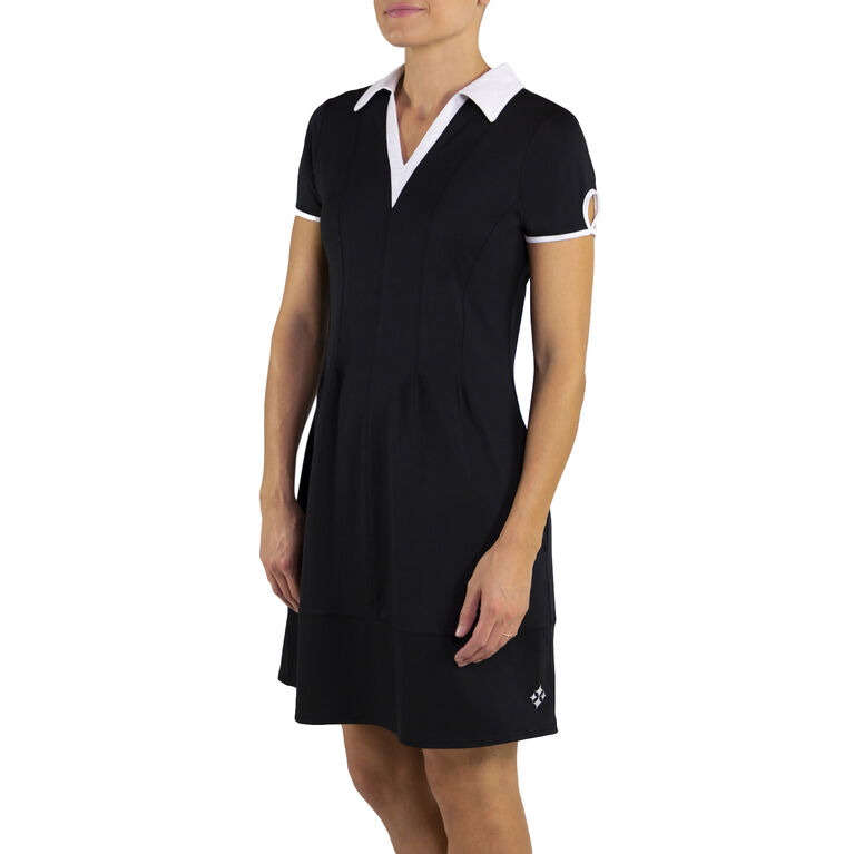 Jofit Short Sleeve Keyhole Dress