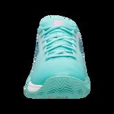 Alternate View 2 of Hypercourt Express 2 Juniors Tennis Shoe - Light Blue/White