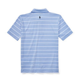 Polo Golf Boys' Striped Performance Lisle Golf Polo