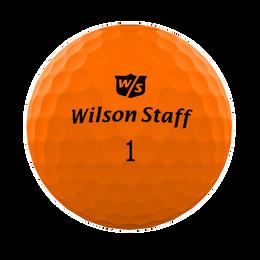 Wilson DUO Professional Golf Ball - Matte Orange