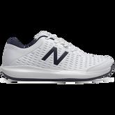 Men's 696V4 Tennis Shoe - White/Navy