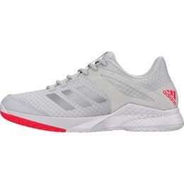 adidas adizero Club 2.0 Women's Tennis Shoe - White/Silver