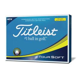 Titleist Tour Soft Golf Balls - Personalized