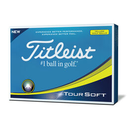 Titleist Tour Soft Golf Balls - Personalized