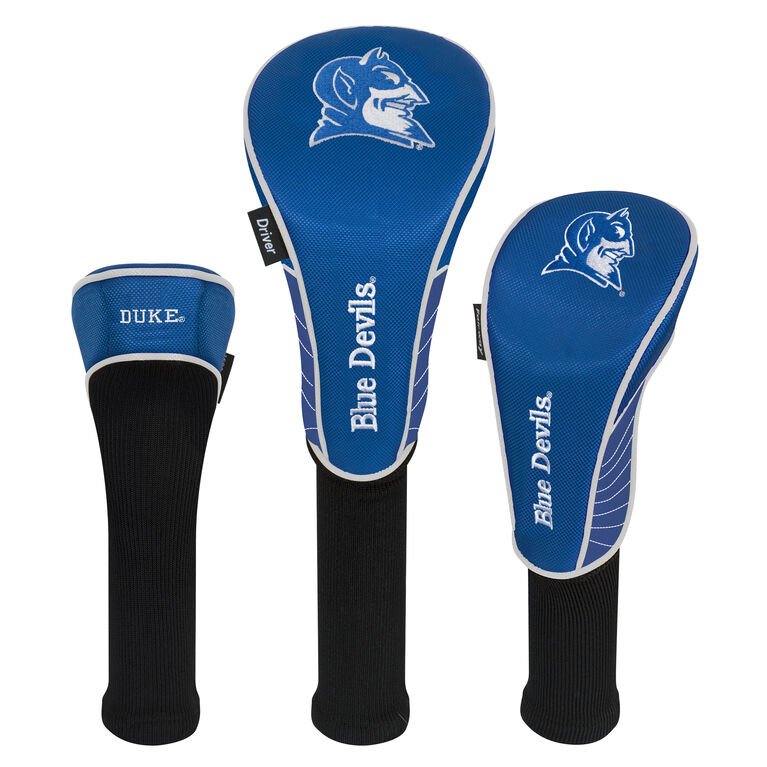Team Effort Duke Blue Devils Headcover Set of 3