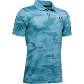 Alternate View 4 of UA Performance Textured Printed Boys' Golf Polo Shirt
