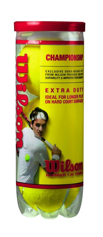 Wilson Championship Tennis Balls - Extra Duty