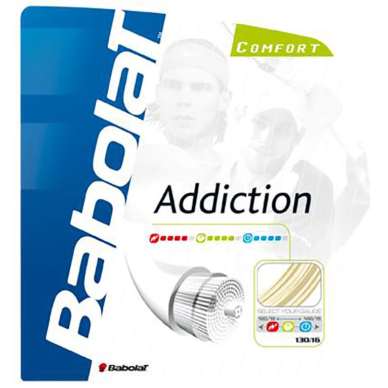 Babolat Addiction 17 Gauge String-Natural