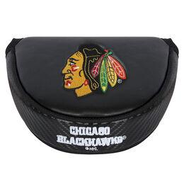 Team Effort Chicago Blackhawks Black Mallet Putter Cover