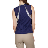Alternate View 1 of Alllure Collection: Sleeveless Tennis Tank Top