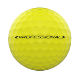 Alternate View 2 of DUO Professional Matte Yellow Golf Balls - Personalized