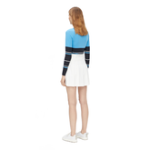 Alternate View 3 of Diane Long Sleeve Striped Top