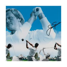 """Tiger Woods & Jack Nicklaus """"Legends of the Swing"""" 36"""" x 18"""""""