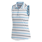 Alternate View 7 of Ultimate365 Sleeveless Stripe Polo Shirt