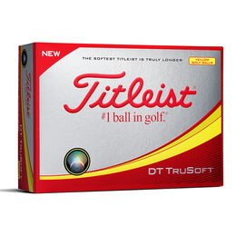 Titleist DT TruSoft Golf Balls - Yellow