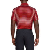 Alternate View 1 of Performance Textured Stripe Golf Polo Shirt