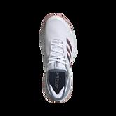 Alternate View 4 of Adizero Ubersonic 3 Women's Tennis Shoe - White/Blue