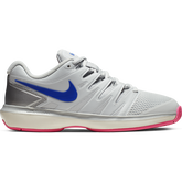 Air Zoom Prestige Women's Tennis Shoe - Grey/Pink