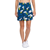Tranquil Bay Collection: Lily Garden Fit and Flare Pull On Skort