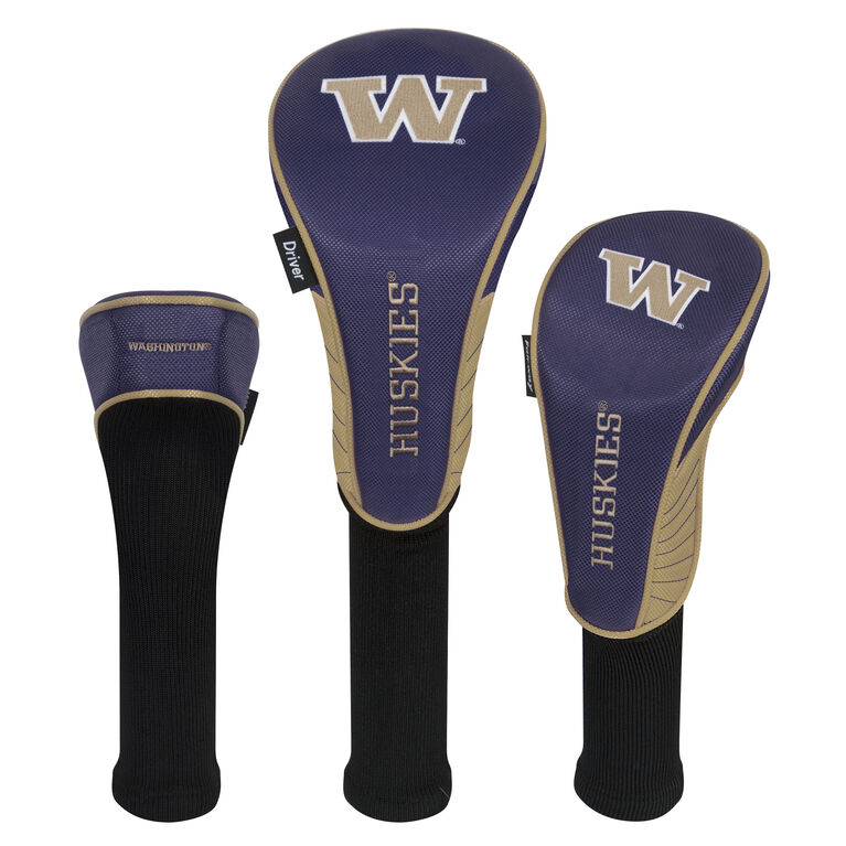 Team Effort Washington Huskies Headcover Set of 3