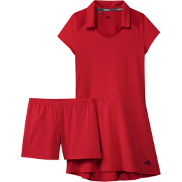 Girls Short Sleeve Ruffled Golf Dress