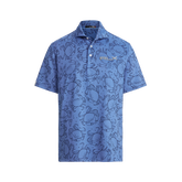 Alternate View 3 of Classic Fit Tech Jersey Happy Crabs Polo Shirt