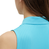 Alternate View 3 of Tess Sleeveless Striped Polo Shirt