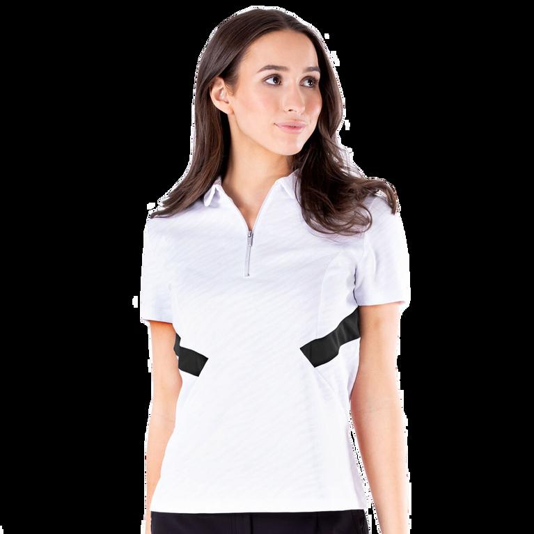 Dynamo Collection: Dyna Short Sleeve Inset Waist Polo