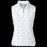 Alternate View 1 of Ventura Sleeveless Print Golf Shirt