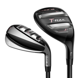 T-Rail 5-Hybrid, 6-PW, SW Women's Combo Set w/ Cobra Ultralite 50 Graphite Shafts