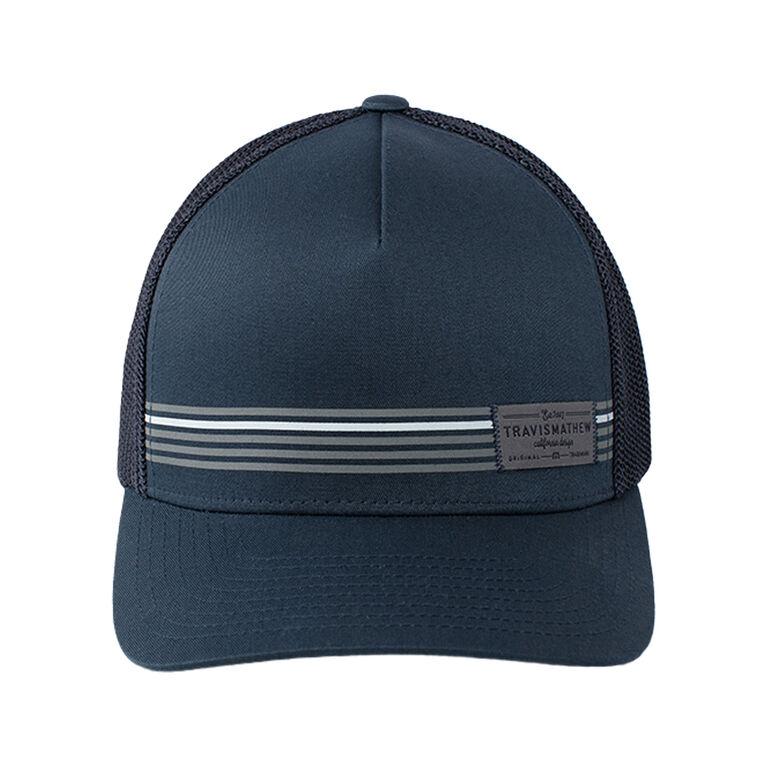 Boater Stripe Snap Back Hat