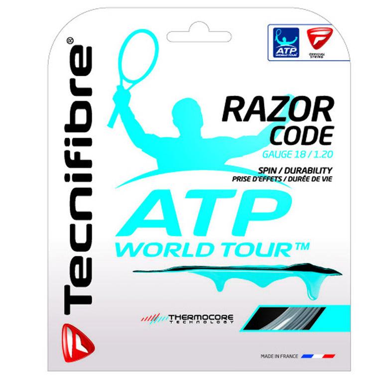 Tecnifibre ATP Razor Code 18 Gauge String Set - Carbon