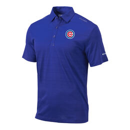 Chicago Cubs OMNI-WICK Printed Dot Polo