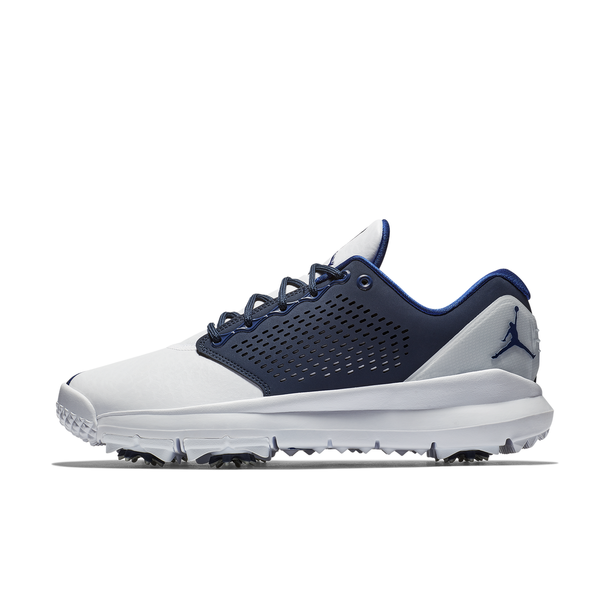 5f11a90638e8 Nike Jordan Trainer ST G Men's Golf Shoe - White/Navy Zoom Image