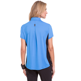 Alternate View 1 of Apollo Collection: Short Sleeve Shoulder Stud Top