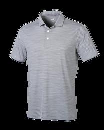 Cloudspun Caddie Stripe Golf Polo