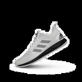 Alternate View 5 of Adizero Defiant Bounce 2 Women's Tennis Shoes - White/Black