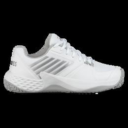 Aero Court Women's Tennis Shoe - White/Silver