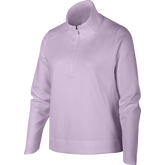 Dri-FIT Big Kids' (Girls') Long-Sleeve 1/4 Zip Pullover